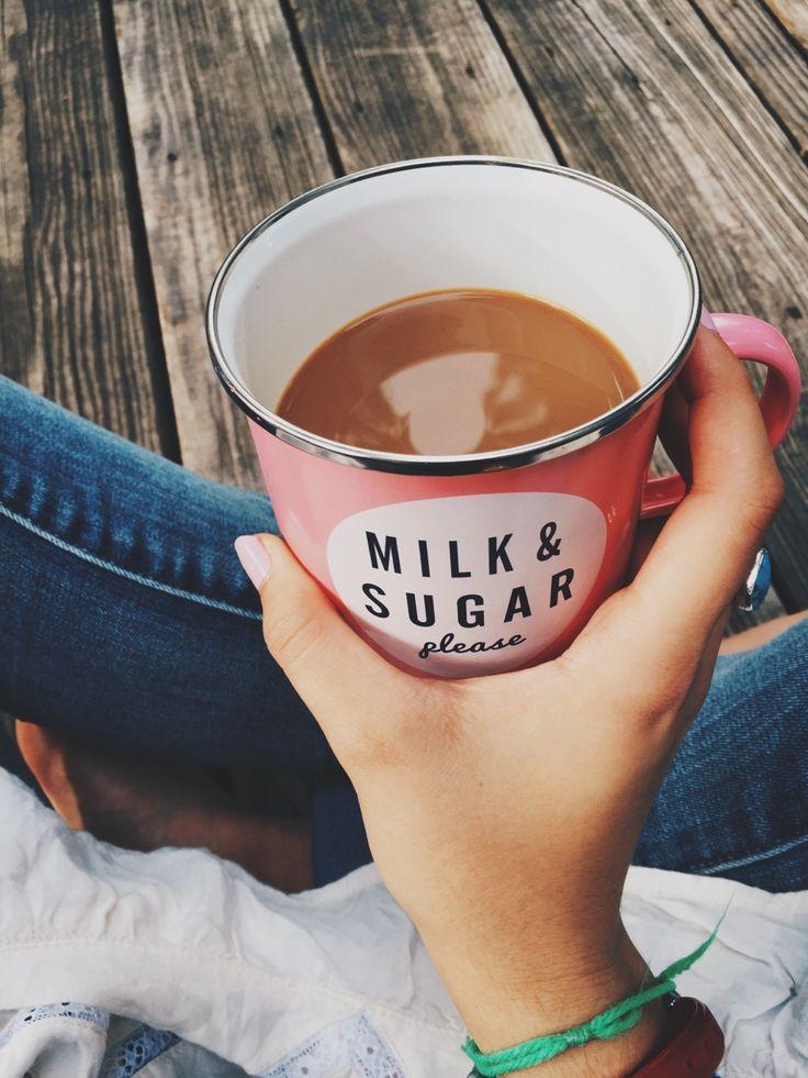 Milk & Sugar please coffee mug