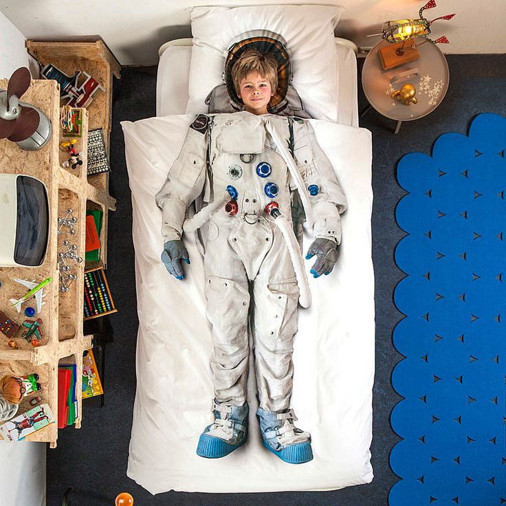 top3 by design - Snurk - astronaut single bed set