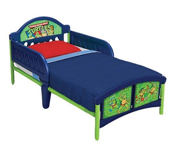 VENTA CAMA INFANTIL DE LAS TORTUGAS NINJA. BB86628NT. No incluye colchón, IndalChess.com Tienda de juguetes online y juegos de jardin