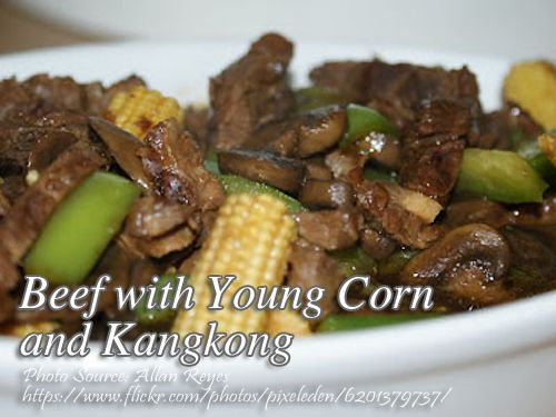 How To Cook Beef With Young Corn And Kangkong