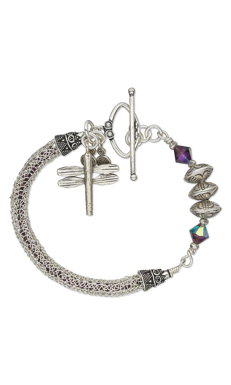 Tutorial For Viking Knit Bracelet ..... From Fire Mountain Gems!