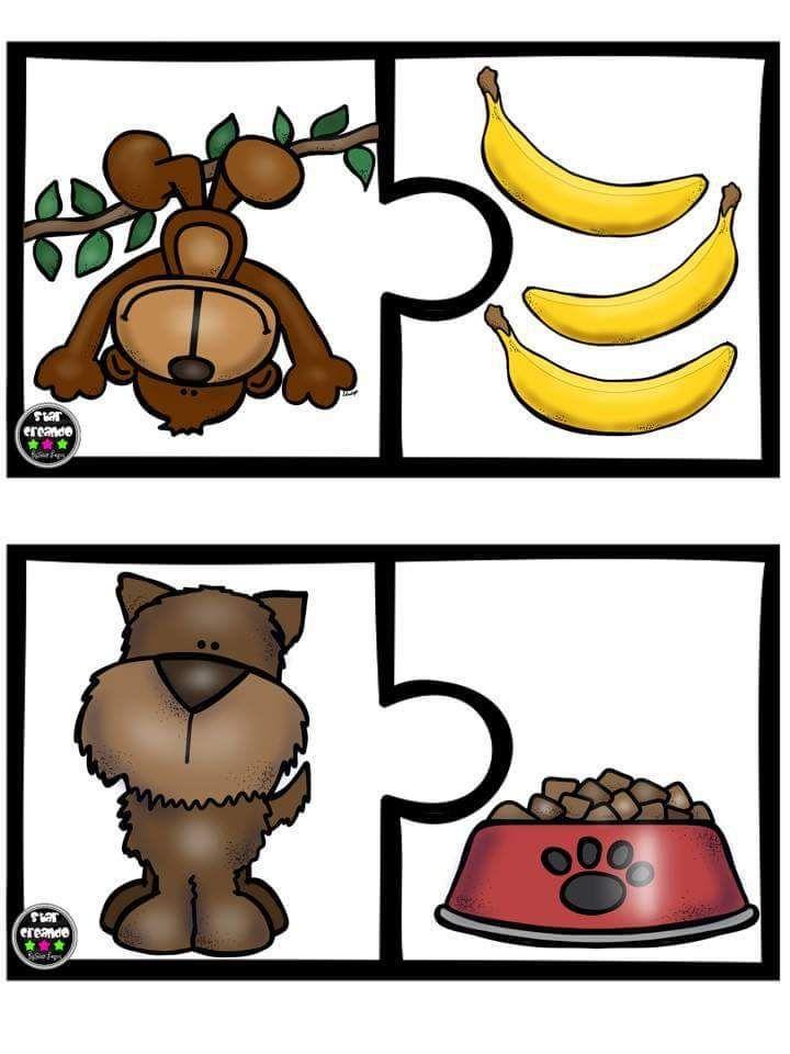 Puzle animales vs alimento (5)