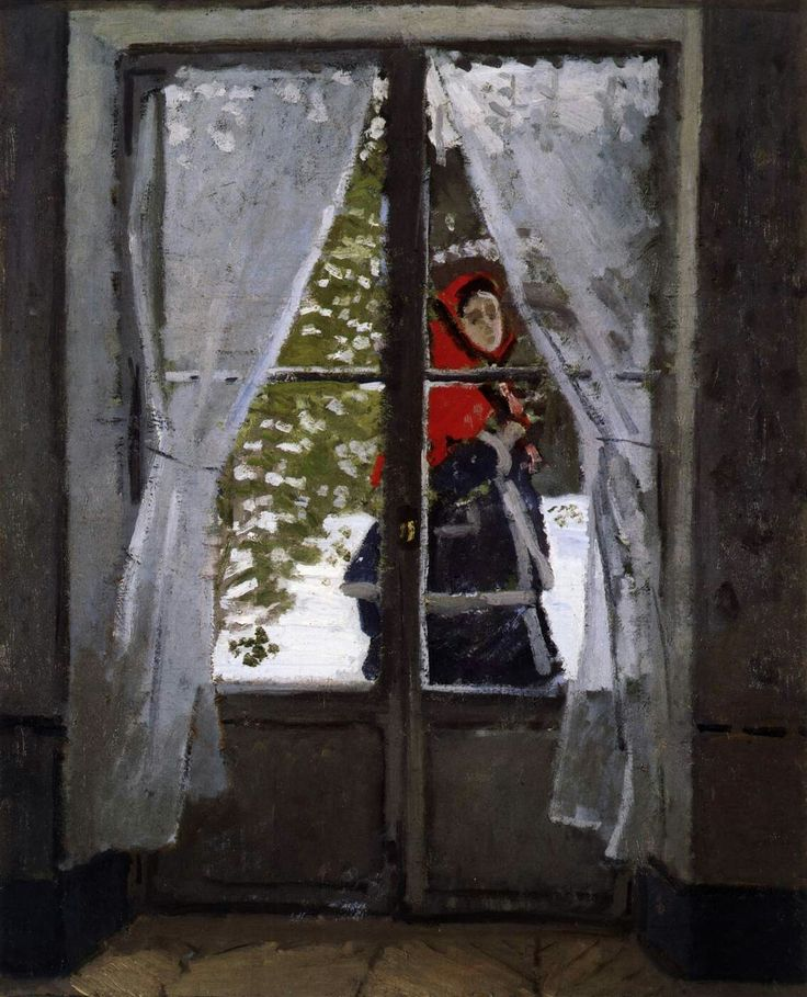 The Red Cape 1869-71 Oil on canvas, 99 x 80 cm Museum of Art, Cleveland