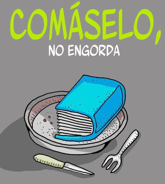 ¡¡¡Leer no engorda!!!