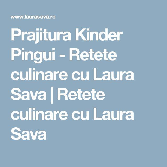 Prajitura Kinder Pingui - Retete culinare cu Laura Sava | Retete culinare cu Laura Sava