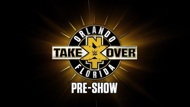 Don't miss the #NXTTakeOver: Orlando Pre-Show LIVE RIGHT HERE at 7:30/6:30c!