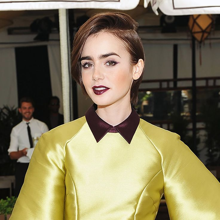 Lily Collins Has Officially Gone Blonde Hair Pinterest