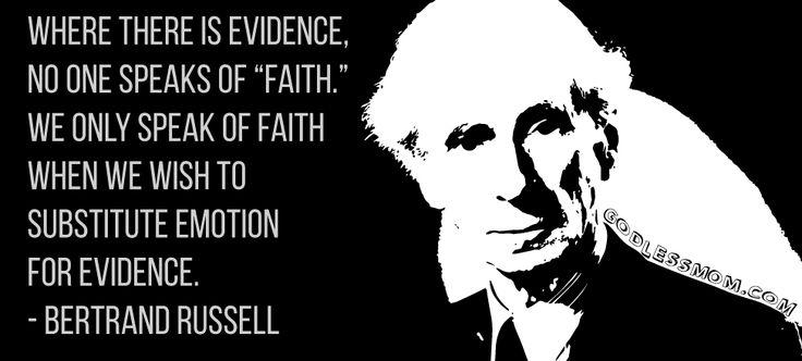 Faith.  More:   #atheist #atheism