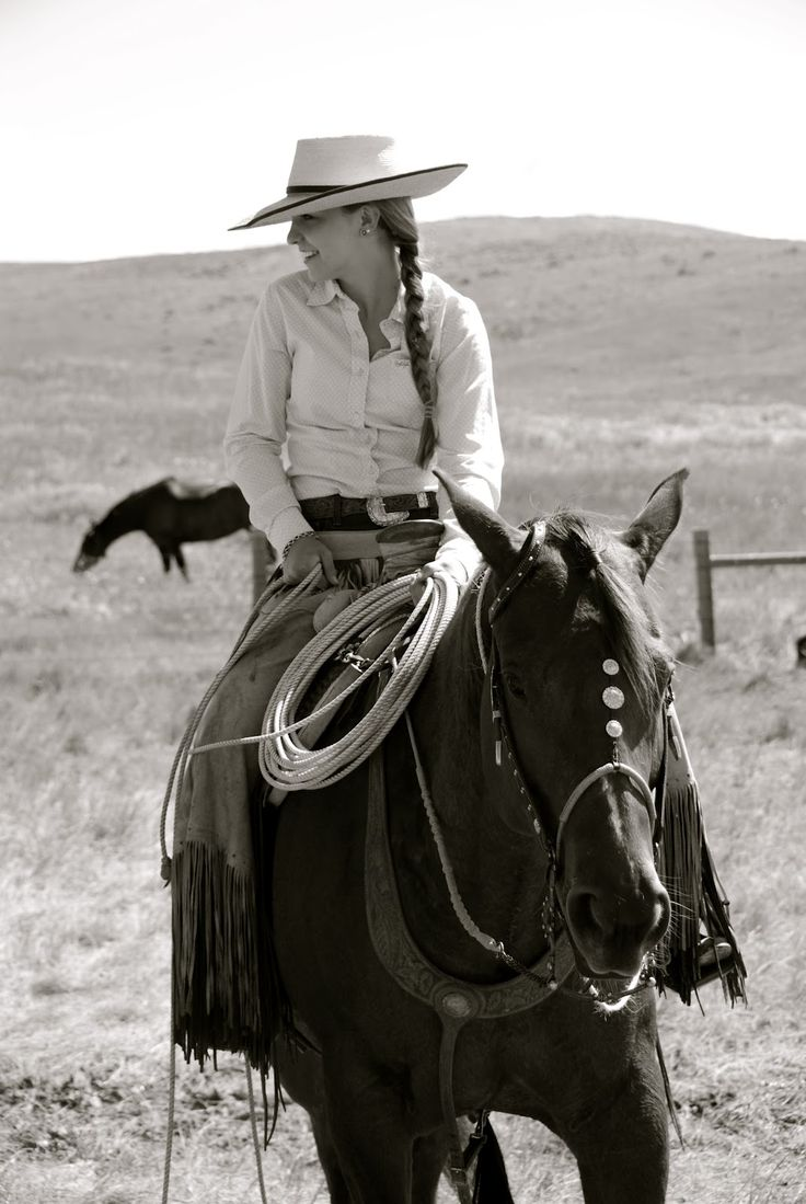 Reata Brannaman - love her hats