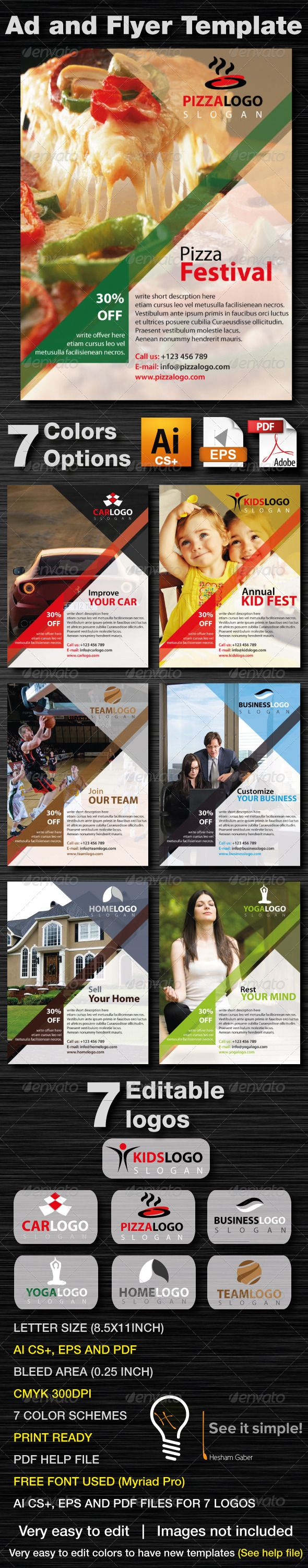 ideas about business flyers business flyer ad and business flyer template 7 colors
