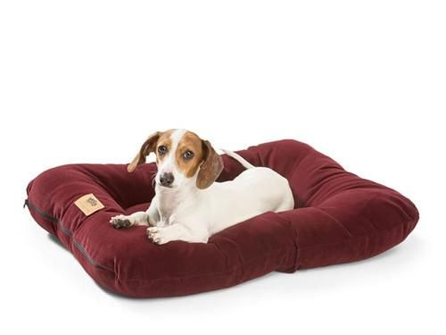 Comfy and Durable Bed with Microsuede - our most durable dog bed. Heyday dog beds were made to resist all those messes your dog creates!  With a quick wipe or toss in the wash, this dog bed is as good as new again. Your Choice of Sizes.
