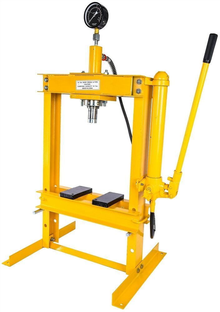 Ebay Advertisement Jegs 81636 Hydraulic Shop Press 10 Ton Bench Top Mount Working Range 1 1 2 To 1 Truck Tools Hydraulic Shop Press Tools For Sale