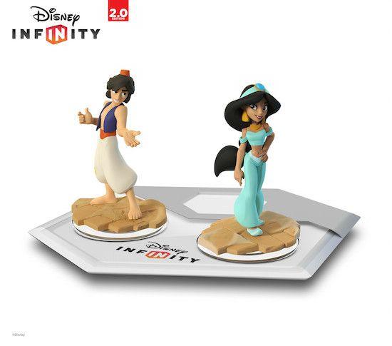 "Jasmine and Aladdin Coming Soon to ""Disney Infinity"""