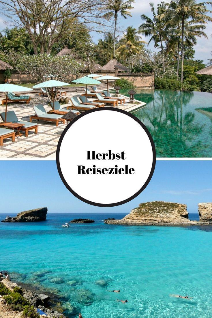Ubud, Bali, Indonesien & Blaue Lagune, Malta / Herbst Reiseziele: Die schönsten Orte für euren Urlaub