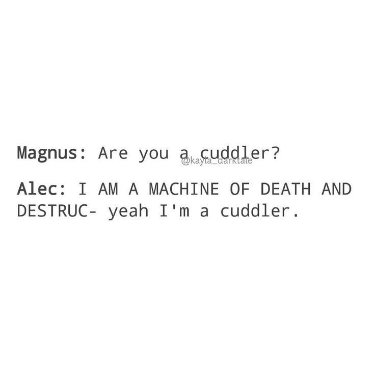 [Open for more] • • • Of course he's a cuddler • • @harryshumjr @matthewdaddario [Image from Tumblr] • • ily: i love you. ilysm: i love you so much . ikyfwifa: i know you feel what i feel alec . wtgcdpma: when things get crazy don't push me away . idchmpybw, idchmpyhbw: i don't care how many people you'vebeen with, i don't care how many people you haven't been with . iamt: i am malec trash