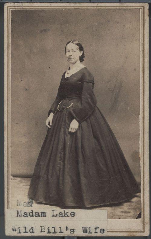 Agnes Lake - Wild Bill Hickok's Wife