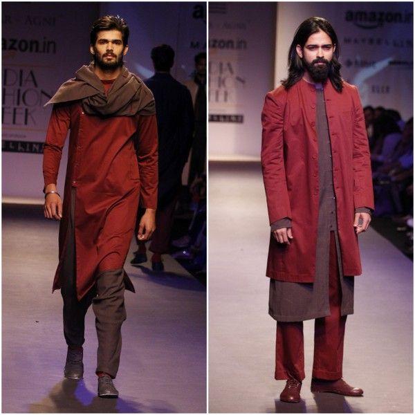 Antar-Agni defines the new age urban-cool male. #AIFW16 #Menswear