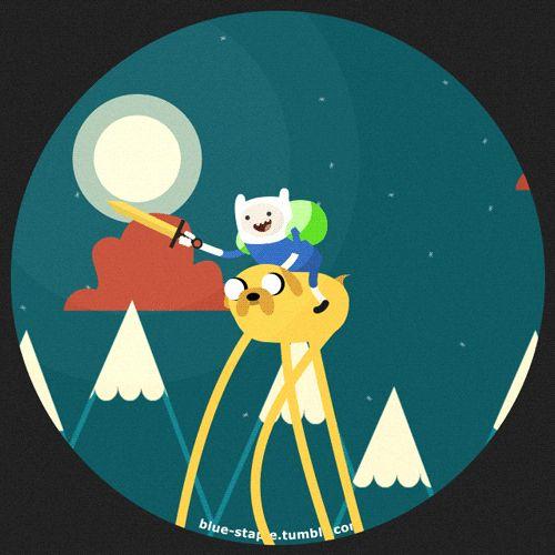 Adventure Time, C'mon grab your friends... by Blue-Staple-Studios