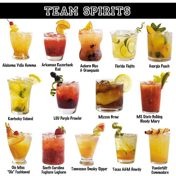 SEC Cocktails!