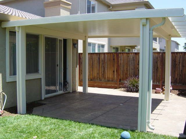 Free Standing. Covered Patio ...