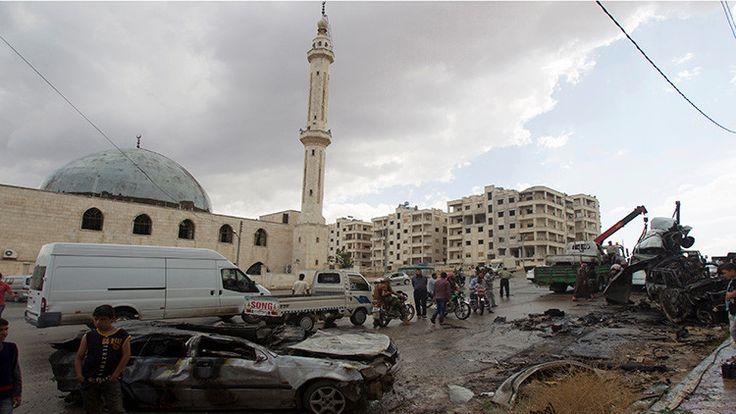 El Ministerio de Defensa ruso afirmó que la Fuerza Aérea del país no llevó a cabo ataques aéreos en la provincia siria de Idlib.