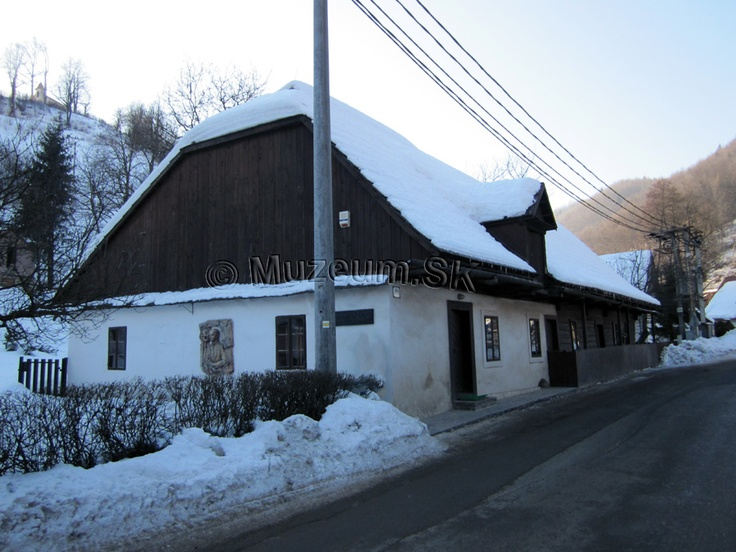 Slovakia, Tajov - Birthplace of writer J.G.Tajovský