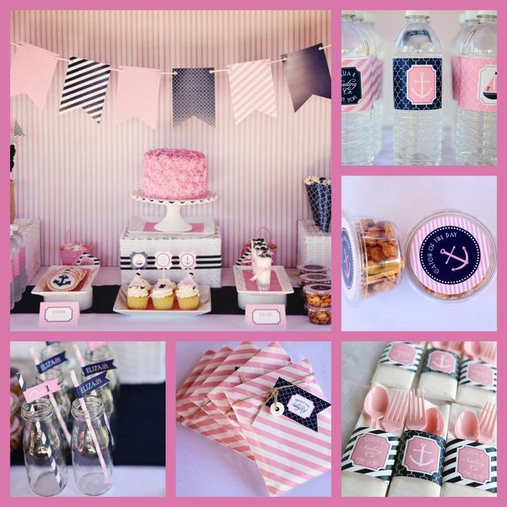 Baby Shower Ideas Sailor sailor centerpieces for baby shower | nautical baby shower girl or