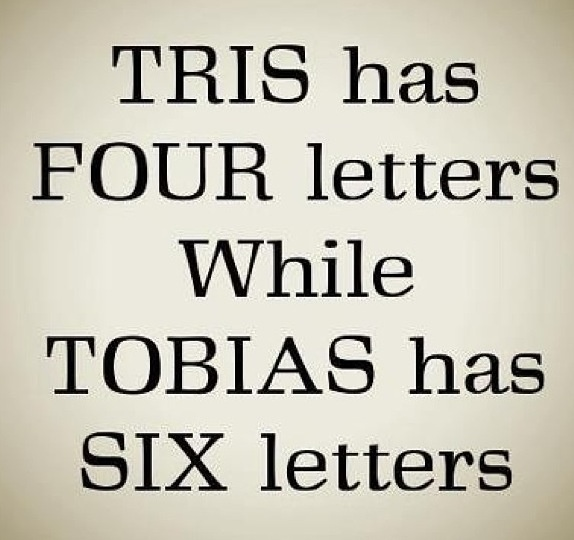 Divergent Veronica Roth Insurgent Tris Tobias Four *ahh the perfectness... please give me a moment to fangirl...