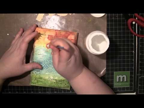 This is my all time favorite project video...it is no secret that I love Gelatos and this video demonstrates why.    Part 1: Faber Castell Mixed Media Canvas with Gelatos(1/2)