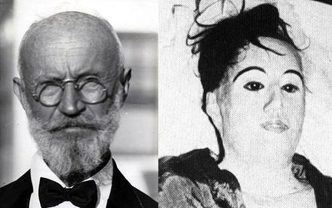 Carl Tanzler & Elena Hoyos. Carl was a radiologist who met Elena in 1930 before she was diagnosed with tuberculosis. He became infatuated with the pretty young Cuban & attempted to cure her. Alas, she died a year later. Proving that love has no bounds, Carl stole her corpse after her burial & brought her to his home. He attached the rotting body together with wire, silk, wax & plaster and kept her in his bed... for 7 years..thats one bizarre not in  history.