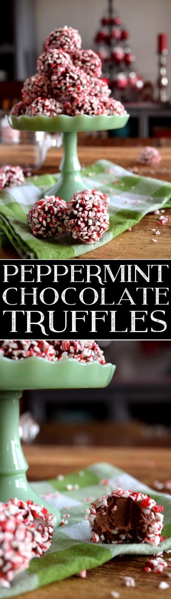 peppermint-chocolate-truffles