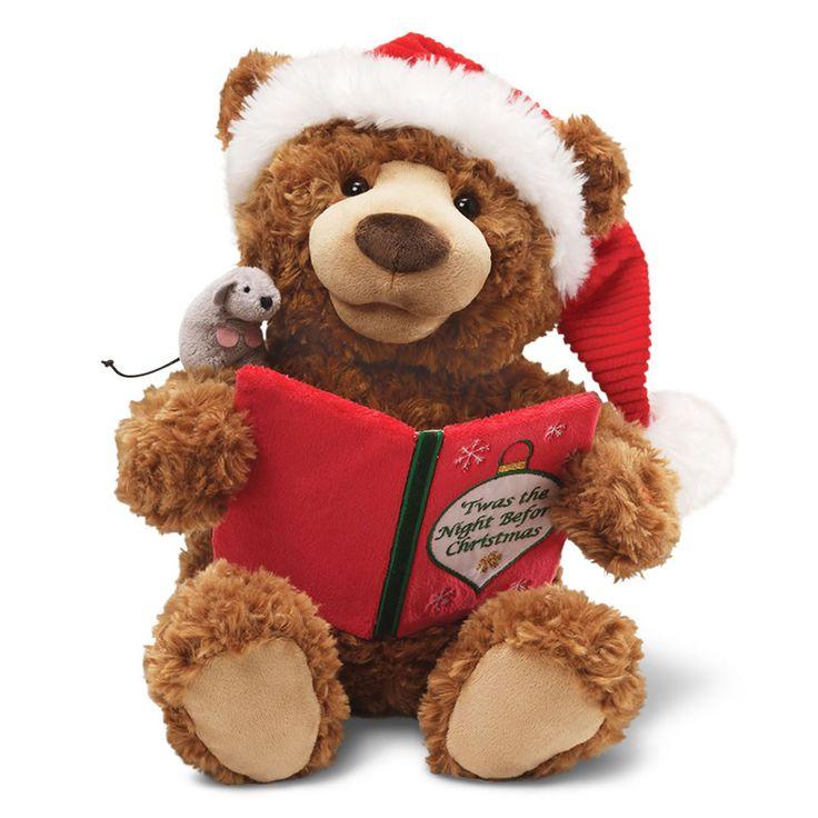 Twas The Night Before Christmas Talking Bear