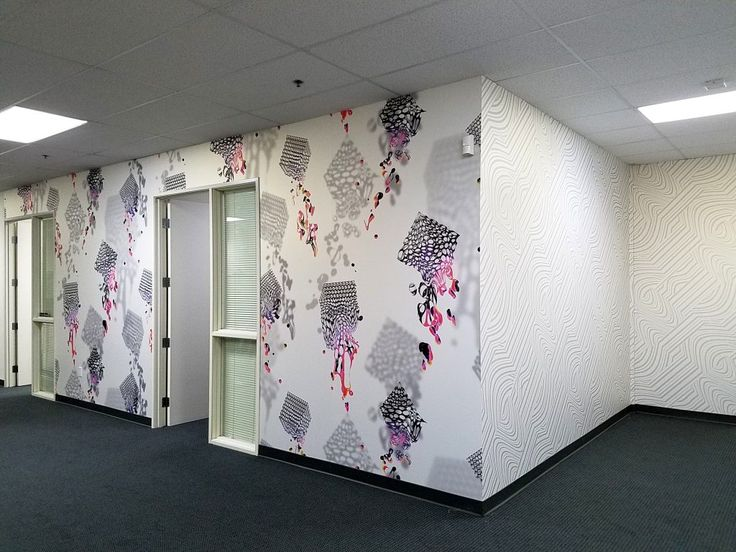 CanvasTac Gold Office Wall Mural Part 81
