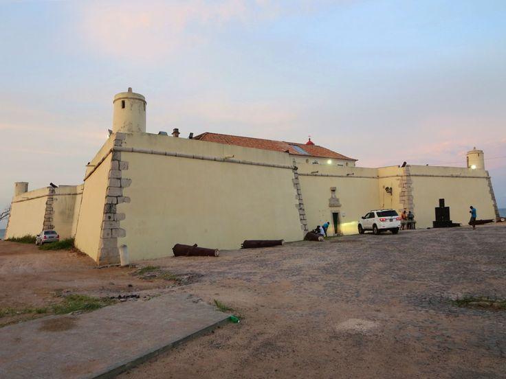 The Sao Tome National Museum is housed in the Forte de Sao Sebastiao (1575) in Sao Tome, São Tomé and Príncipe.