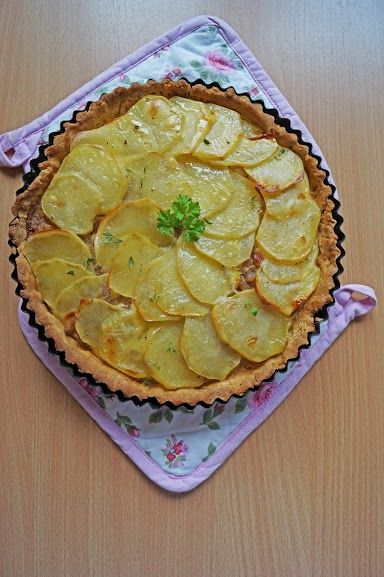 Tarta z ziemniakami. Bezglutenowa