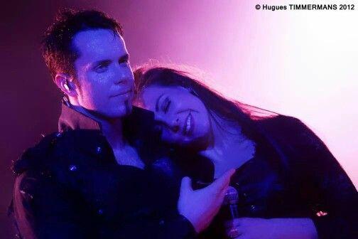 Tommy Karevik and Elize Ryd live with Kamelot 2012