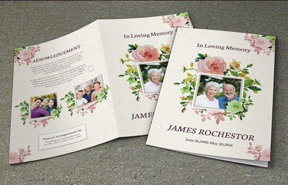 Funeral Brochure Template