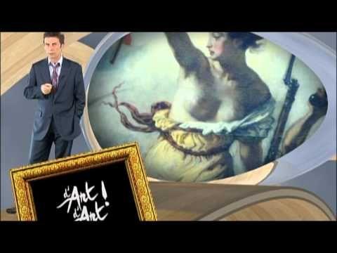 """▶ """"La liberté guidant le peuple"""" Delacroix - d'Art d'Art - YouTube"""