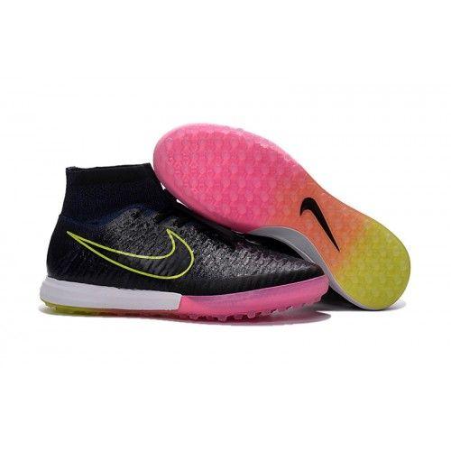 Nike Magista - Billige Nike MagistaX Proximo Street TF Sort Lyserød