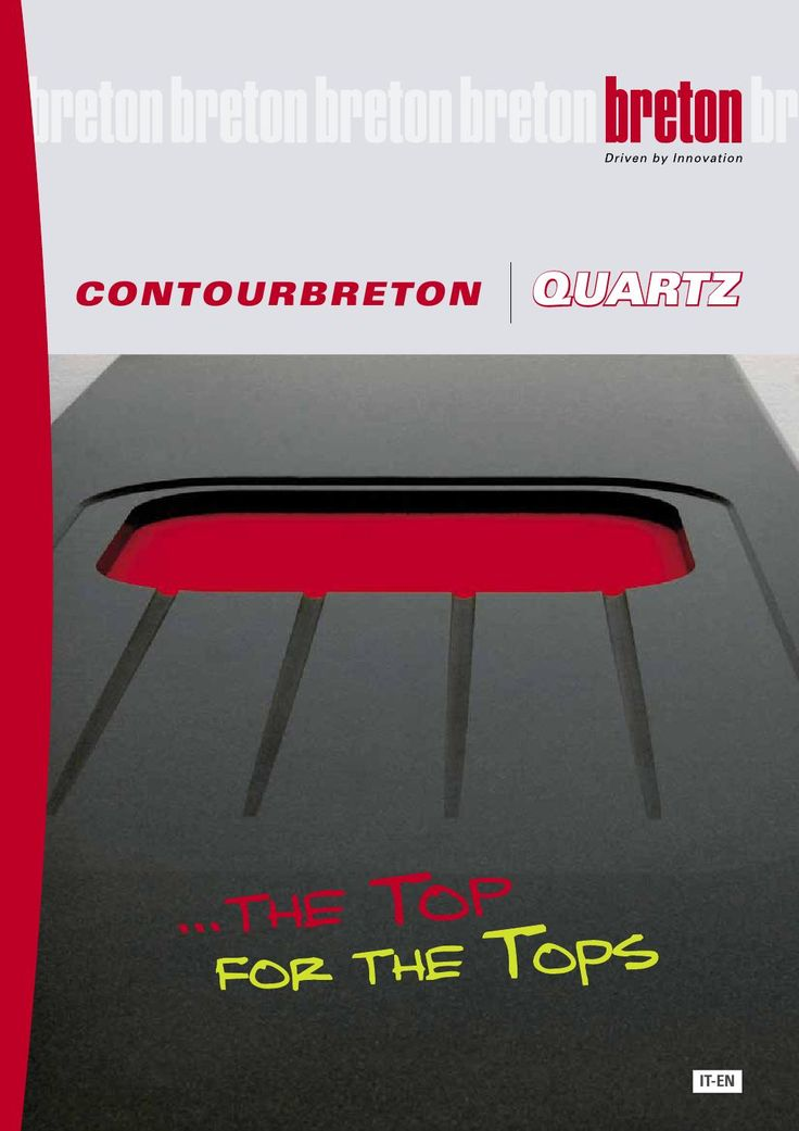 Contourbreton QUARTZ - cnc stone machine for kitchen top  Contourbreton Quartz is our cnc stone machine with compact, ergonomic and appealing design, ideal for the manufacturing of kitchen tops. It is an easy to program stone machining centre that was specifically developed to produce kitchen worktops, bathroom and vanity tops, tabletops etc., always offering maximum machining precision.