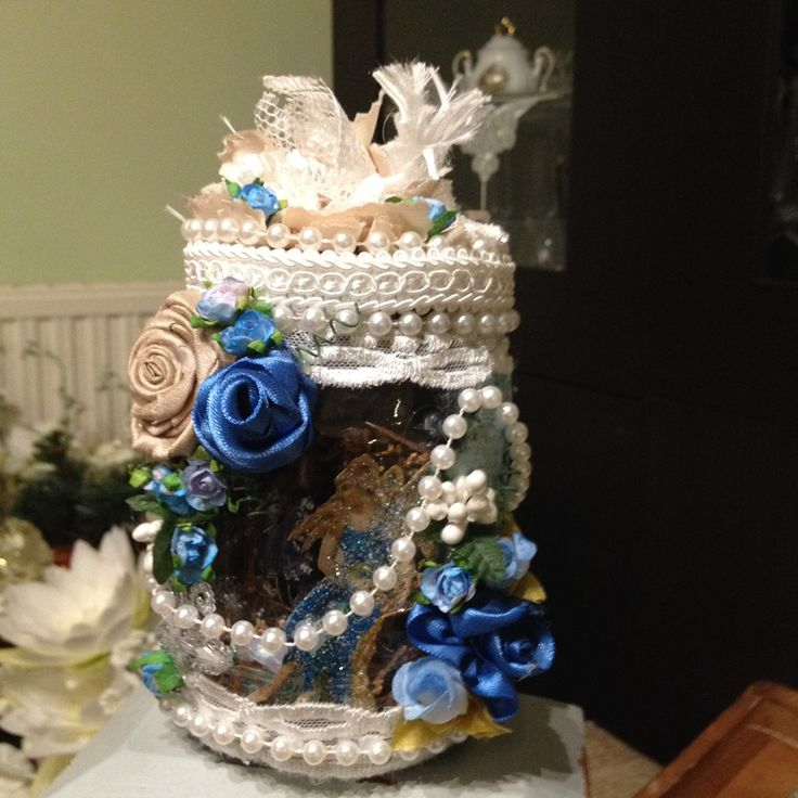 Little fairy in the jar!!!  Handmade by Stella Frantzali