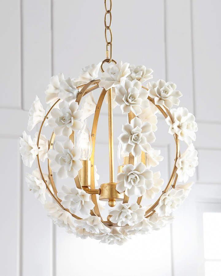 Ceramic Flower Pendant Light In 2020 Ceramic Flowers Pendant