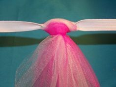 How to sew a baby skirt. Tutu Tutorial - Step 10