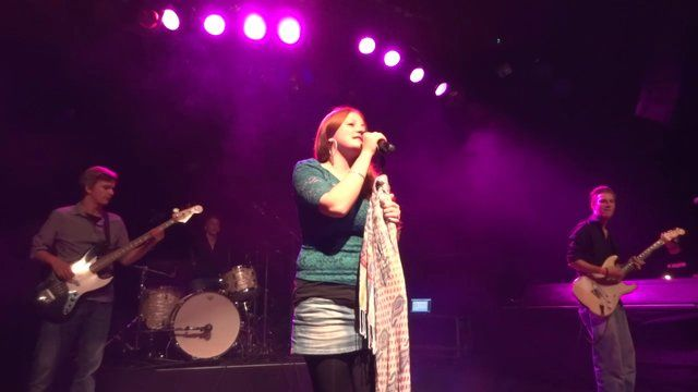 The first day of the Redhead Days 2013 with the beautiful German redhead Vanessa Voss and her band at the Mezz in Breda, city of the Redheads  See all my Redhead Days 2013 video's here: https://vimeo.com/album/2513830
