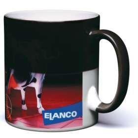 Color changing mug. £4.75 per mug when ordering 108.  Wow Mug.  Not dishwasher safe.