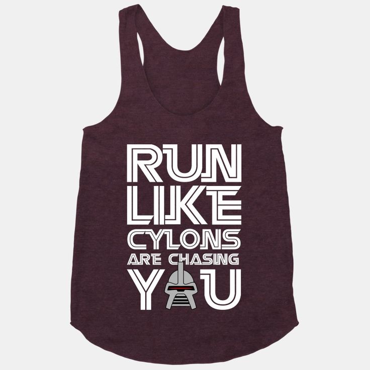 Run Like Cylons Are Chasing...