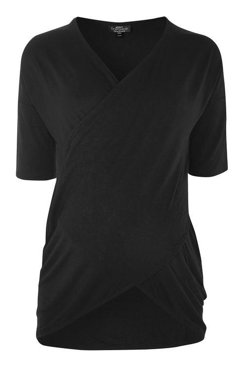 MATERNITY Wrap Nursing T-Shirt