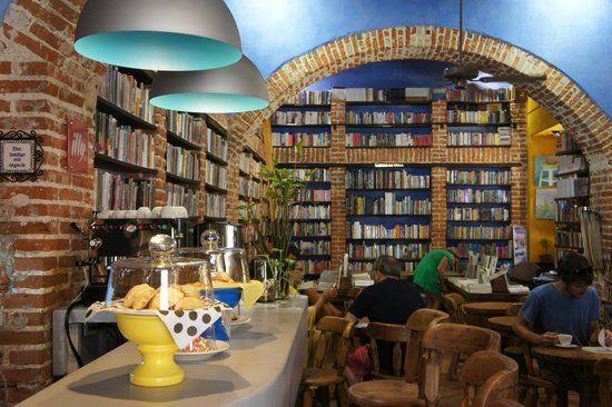 Resultado de imagen para cafe libreria ciudad vieja cartagena
