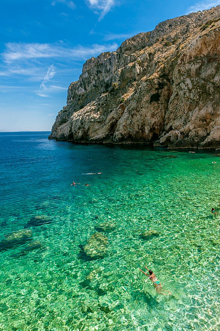 What to do in Croatia: Best Beaches. Mali Bok Beach, Cres.