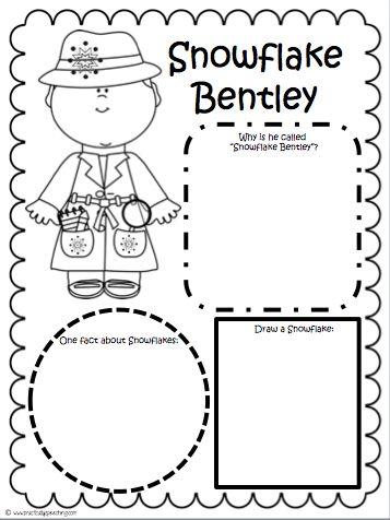 Practically Speeching: Snowflake Bentley Comprehension Packet